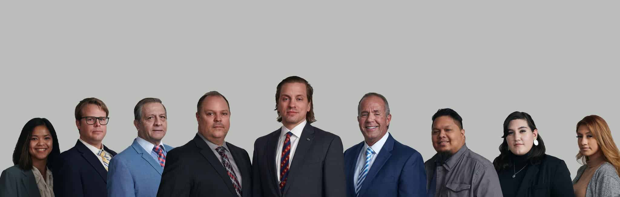 Weber Law Firm team photo